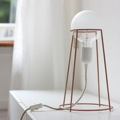 Agraffé Table Lamp #Artistic, #Awesome, #Lamp