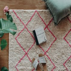 Cotton Berber Rugs - Pink – Oh Happy Home Washable Rugs, Hand Tufted Rugs, Geometric Lines, Berber Rug, Rug Making, 9 And 10, Shag Rug, Hand Weaving, To My Daughter