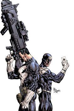 Mike Deodato, Jr - Punisher vs Bullseye cover