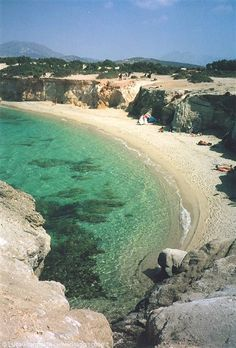 ALIKO BEACH, Naxos, GREECE #wildbeach ➳ wilderness beach
