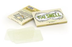 Paper Soap Sheets! What do you know!