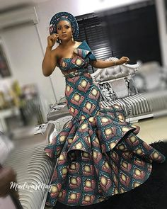 The ideal source for your afro chic life style and fashion site African Fashion Ankara, African Print Fashion, Africa Fashion, African Wear, African Dress, African Attire For Ladies, African Prom Dresses, Ankara Dress Styles, African Wedding Dress