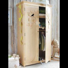 Kindermöbel schrank  Schränke - Kleiderschrank für Kinder Massivholz - ein ...