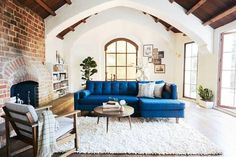 DOMINO:Inside a 1920s Storybook Home's Major Modern Redesign