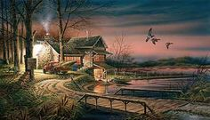 Hunter's Haven by Terry Redlin