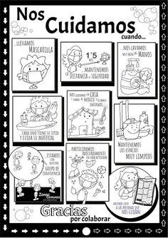 Educar con Jesús: Precauciones con el Coronavirus (por Fano) Material Didático, Birthday Background, Baby Learning, Math For Kids, Algebra, Classroom Organization, School Projects, Back To School, Psychology