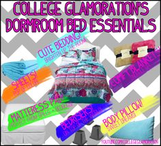What to Bring to College: Bed Essentials!