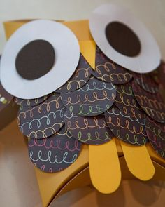 owl, kids craft