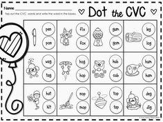Valentines Day Dot the CVC