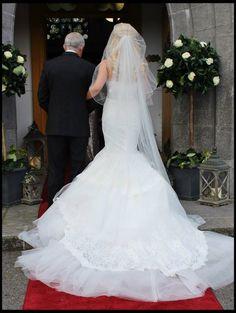 Edel Tuite Bridal Design   News & Opinions   Our Bride of the Day Mermaid Wedding, Lace Wedding, Wedding Dresses, Vip Dress, Error, Inbal Dror, Brides, News, Design