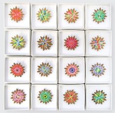 spirograph brooches..I LOVED spirograph as a kid...reminds me of my Dad...