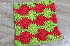 Ponto de Crochê Fantasia - 16 - Receita de Croche com o Passo a Passo no Link http://www.aprendendocroche.com/receitas-de-croche/video-aula.asp?resid=1617&tree=2