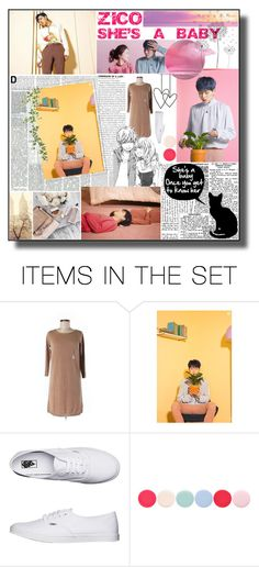 """""""Zico - She's a baby"""" by shook-squad ❤ liked on Polyvore featuring art"""