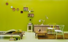 Green room- accent colors