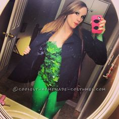 Sexy Homemade Poison Ivy Halloween Costume  sc 1 st  Pinterest & The 25 Hottest Female Halloween Costumes On TV Shows18. Brooke Davis ...