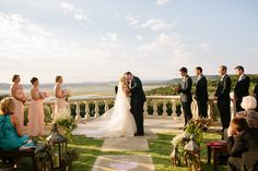Beautiful ceremony site at Villa del Lago in Austin, TX. Akil Bennett | Photographer