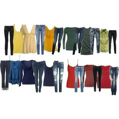House outfits with jeans