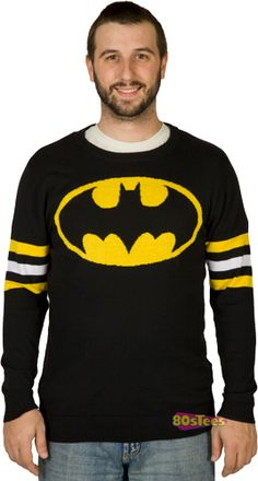 batman sweater anyone? great gift for the boyfriend.