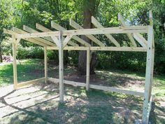 Wood Shed Under Construction