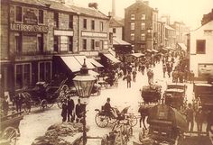 Otley near Leeds - West Yorkshire - England - Manor Square Event - 1910