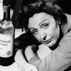 "All I've done all my life is disobey.""  —Edith Piaf"