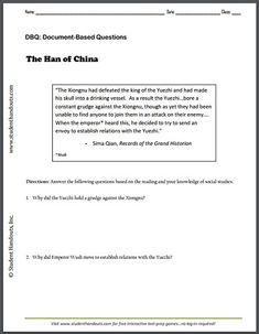 Free ebook pdf download world history timeline history sima qian records of the grand historian dbq worksheet is free to print fandeluxe Choice Image