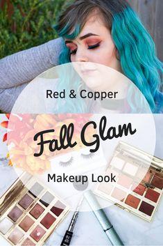 Red and Copper Makeup Look Glam Makeup Look, Fall Makeup, Love Makeup, Makeup Tips, Beauty Makeup, Makeup Looks, Hair Beauty, Makeup Ideas, Fashion And Beauty Tips