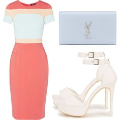 Untitled #3077 by evalentina92 on Polyvore featuring Raoul, Nly Shoes and Yves Saint Laurent