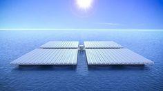 Tecnoneo: Heliofloat, sistema de paneles solares marinos flotantes