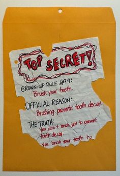 """Blog post with freebie! Use """"Top Secret Knowledge of Grown-Ups"""" to inspire awesome writing in your classroom. Excellent voice, word choice, and text features too! Super beginning of the year activity. Love this book!"""