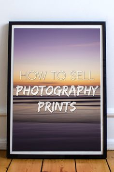 Learn how to sell photography prints. Whether in galleries or online through photo websites, selling prints is a key part of making money with photography. Landscape Photography Tips, Photography Lessons, Photography For Beginners, Photography Portfolio, Abstract Photography, Photography Business, Digital Photography, Amazing Photography, Product Photography