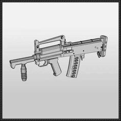 Full Size OTs-14 Groza Assault Rifle Ver.2 Free Paper Model Download - http://www.papercraftsquare.com/full-size-ots-14-groza-assault-rifle-ver-2-free-paper-model-download.html