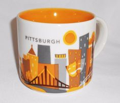 """Starbucks """"You Are Here"""" Pittsburgh"""