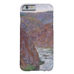 Valley of the Creuse (Gray Day) by Claude Monet Barely There iPhone 6 Case