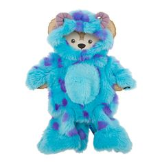 Duffy the Disney Bear Sulley Costume - 17'' Fur-ocious! Your 17'' Duffy the Disney Bear (sold separately) opens the doorway to furry fun times in this soft and shaggy one-piece Sulley costume straight from Monstropolis.