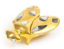 Jonathan Adler Polished Brass Trinket Box - Fly