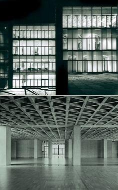 Louis Kahn | Yale university art gallery, 1953 New Haven  Photos by Lionel Freedman and Elizabeth Felicella