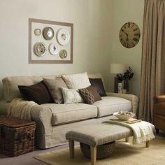 Warme und gemütliche Wohnzimmer                                                                                                                                                                                 Mehr