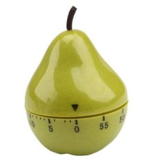 So I quit burning everything! Kitchen Cook, Kitchen Dining, Cooking Timer, Pear Shaped, Plastic, Shapes, Amazon, Green, Christmas
