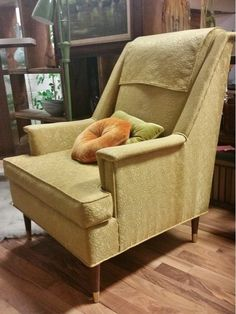 VINTAGE MID CENTURY MODERN ADRIAN PEARSALL LOUNGE CHAIR GOLD CRAFT ASSOCIATES in Antiques, Furniture, Chairs | eBay $475.99