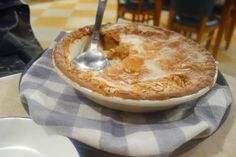 The BEST apple pie ever at The Chicken Shop, London