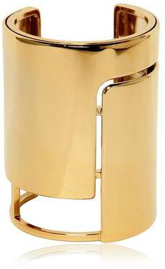 Lanvin Oracle Brass Cuff