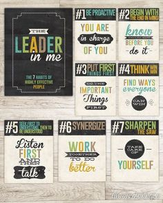 Printable pages to hang up in your classroom or at home. Simply purchase this instant download and the posters are ready to download, print, and