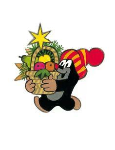 Krtek-Vánoce/Christmas La Petite Taupe, Dreamworks, Mole, Stone Art, Clipart, My Childhood, Cartoon Characters, Bowser, Disney