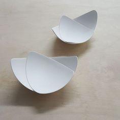 """""""One more firing to go for this commission. Slab Ceramics, Modern Ceramics, Contemporary Ceramics, Porcelain Ceramics, Hand Built Pottery, Slab Pottery, Ceramic Pottery, Ceramic Plates, Ceramic Art"""