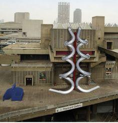 Carsten Höller's Giant Slides Return to London Image via BBC