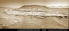 'Curiosity Inspects Mt Remarkable on Mars' image from the #NASA_App http://antwrp.gsfc.nasa.gov/apod/ap140507.html
