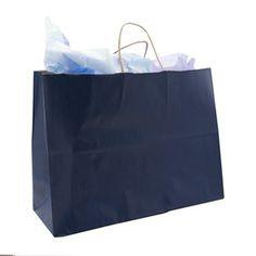 Blue Shopping Bag (Lg.)