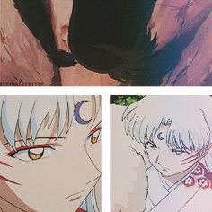 Sesshomaru and Rin GIF-cccuuutttee!