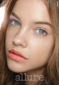 ALLURE Korea (February 2011)  'TENDER SORBET'  Pastel Orange Lip Stick - Karen Walker 2011 S/S